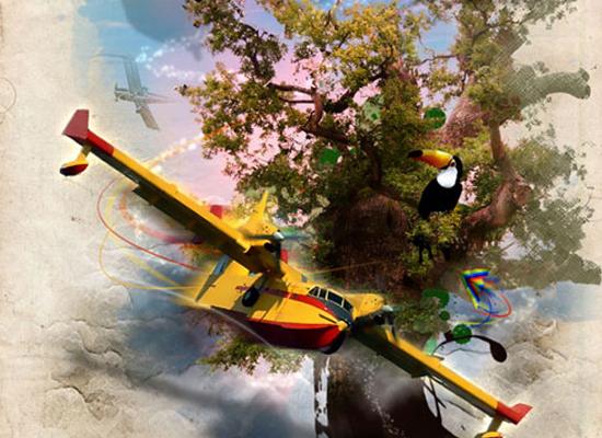 Photoshop : créer une scène magique en peinture