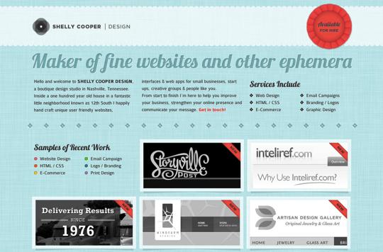 Typographies sur le web 38