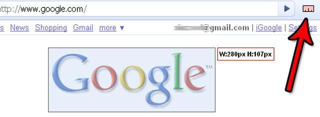 Mesurer dans Chrome