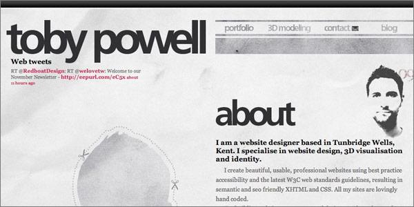 web une page