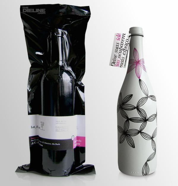 Design bouteille de vin