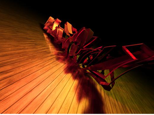 Fond d'écran 3D abstrait et artistiques 12