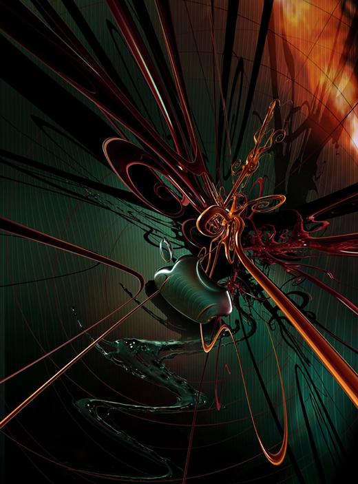 Fond d'écran 3D abstrait et artistiques 14