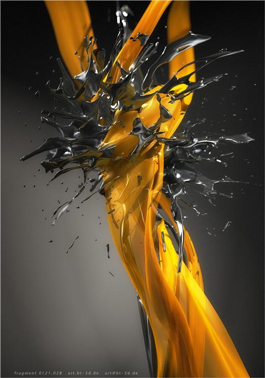 Fond d'écran 3D abstrait et artistiques 17