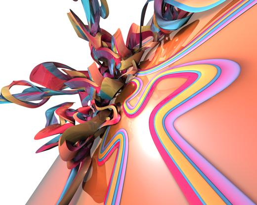 Fond d'écran 3D abstrait et artistiques 30