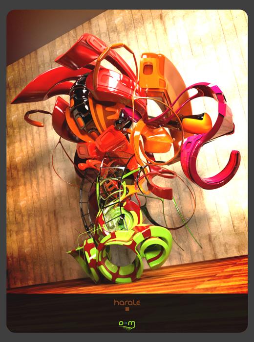 Fond d'écran 3D abstrait et artistiques 4