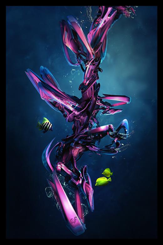 Fond d'écran 3D abstrait et artistiques 5