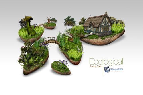 Bâtir un arrière-plan écologique