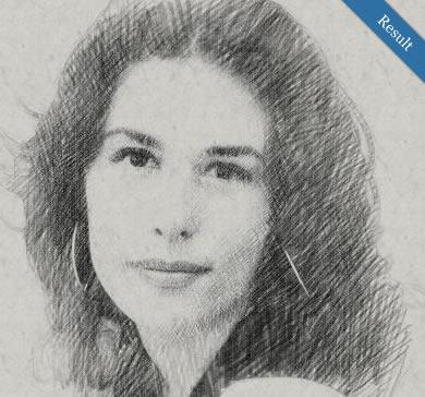 Sketch au crayon