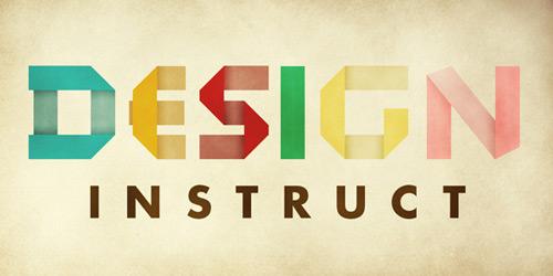 Concevoir une typographie rétro pliée
