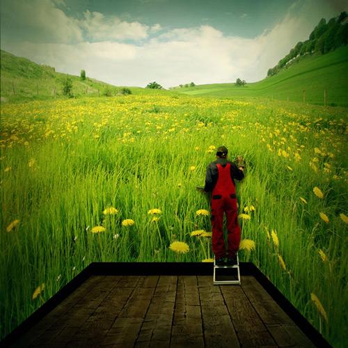 Créer une scène extérieure 3D surréaliste avec Photoshop