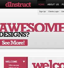 web interface photoshop