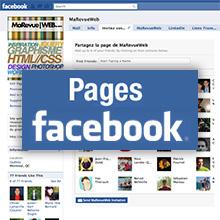 Astuces et exemples de pages fans Facebook