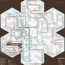 carte de métro