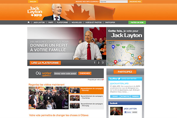Nouveau partie démocrate du Canada