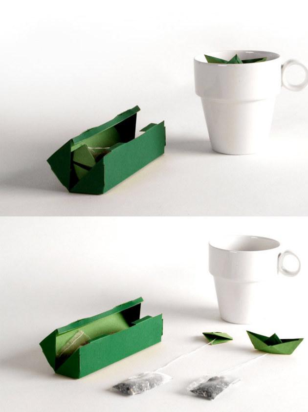 sorte de thé - emballage tPod