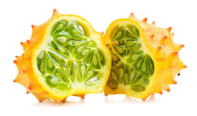 Melon à cornes ou concombre africain