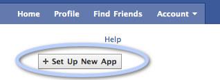 ajouter une application Facebook