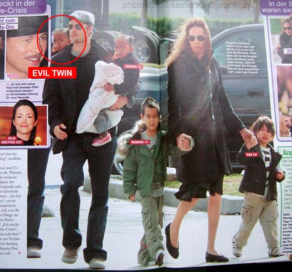Brad Pitt Photoshop