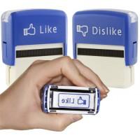 étampe tampon Facebook