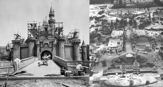 walt disney construction