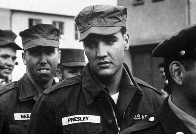 Elvis dans l'armée
