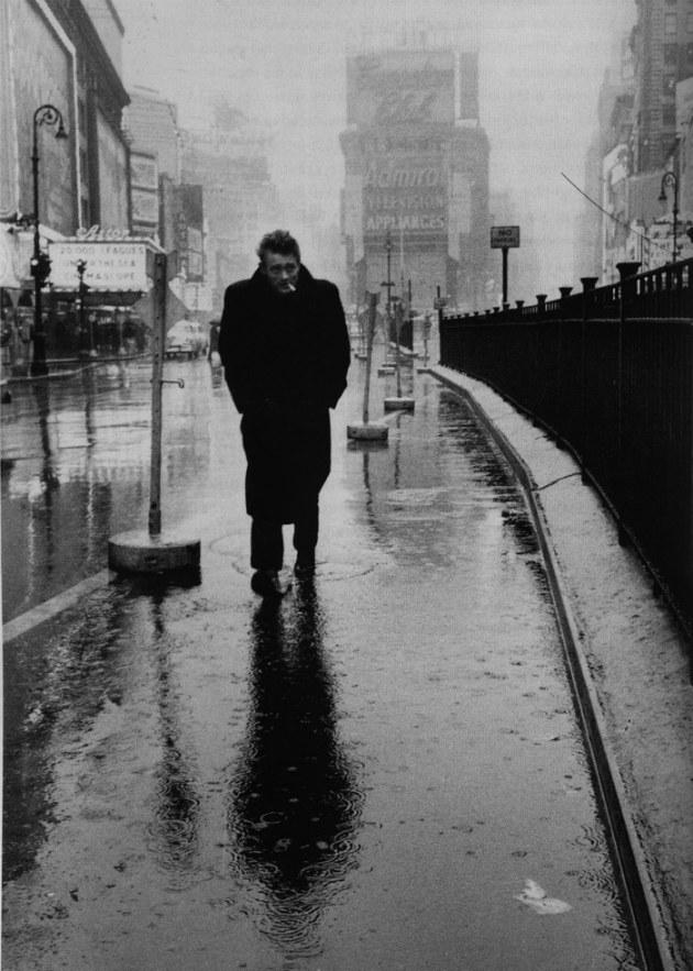 James Dean à Time Square