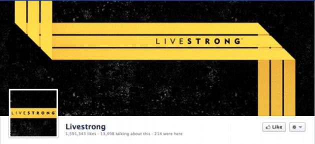 Livestrong Facebook