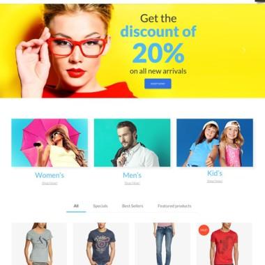 Le thème Monstroid permet de mettre en avant des produits très esthétiques grâce à des photos de grande qualité qui soulignent la qualité de ce que vous vendez.