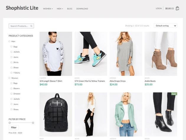 Shophistic-Lite